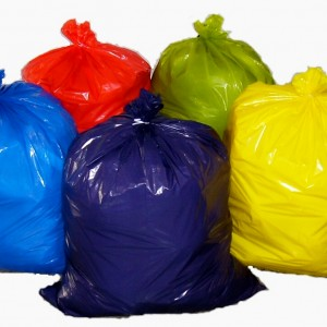 Garbage Bags Strength Colored