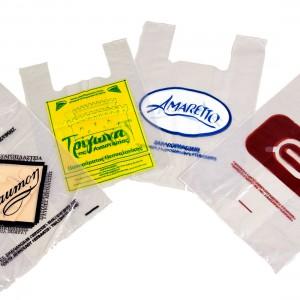 Πλαστικές Σακούλες Τύπου Ζαχαροπλαστείου